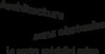logo architecture sans obstacles